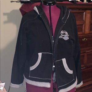 Harley Davidson jacket with hood